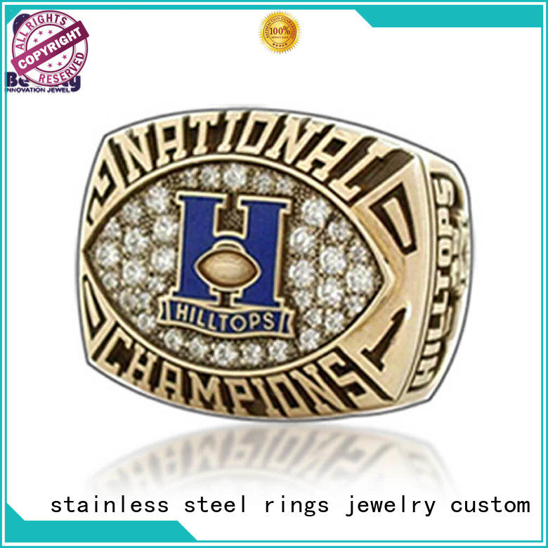 Latest national championship rings ring factory for athlete