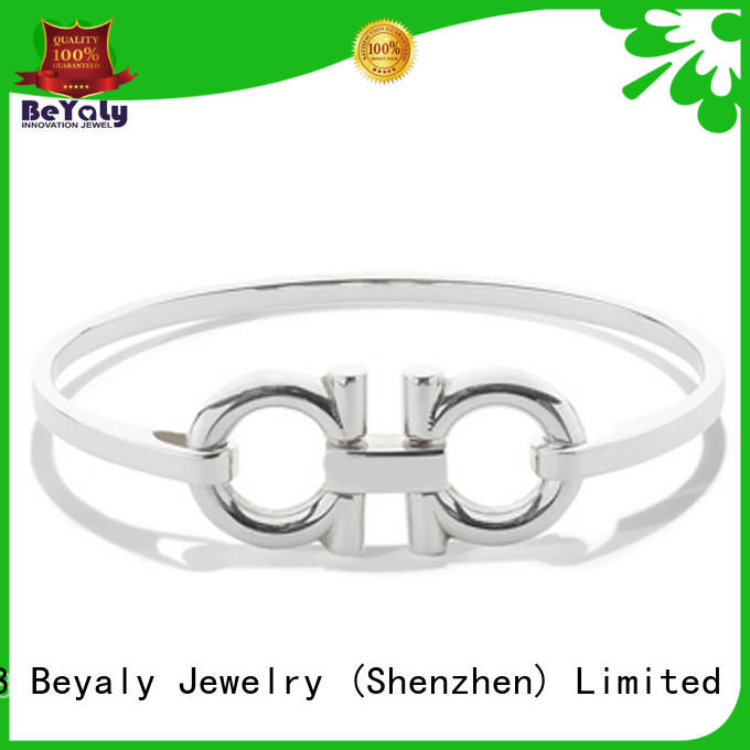 BEYALY popular sterling silver cuff bracelet design for business gift
