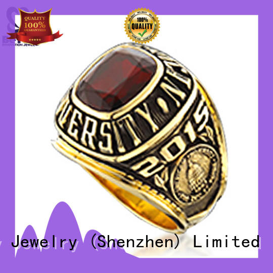 professional college graduation rings stone Supply for students