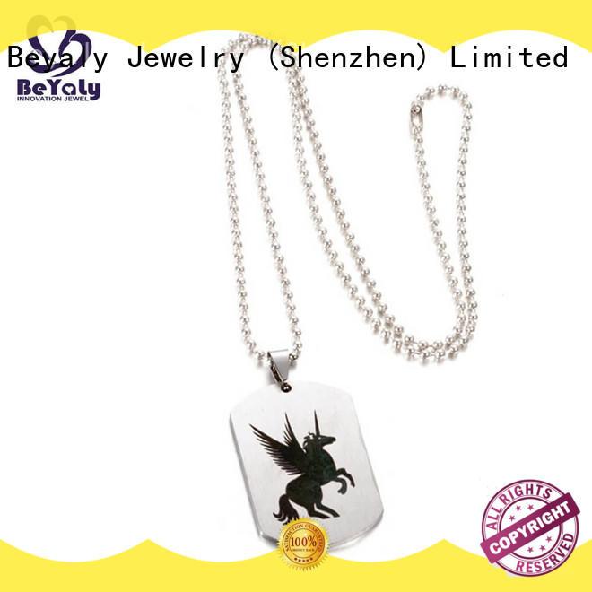 unique jewel pendant necklace sets BEYALY