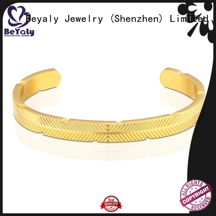 Top cuff bracelet logo Suppliers for anniversary celebration