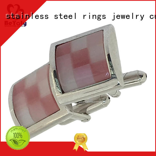 BEYALY special mens diamond cufflinks factory for engagement