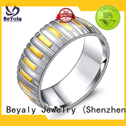 customized sterling silver ring stainless Suppliers for daily life