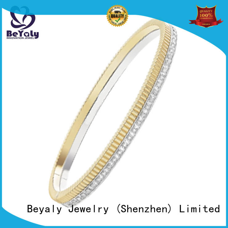 BEYALY zircon stackable bangles with charms Suppliers for ceremony