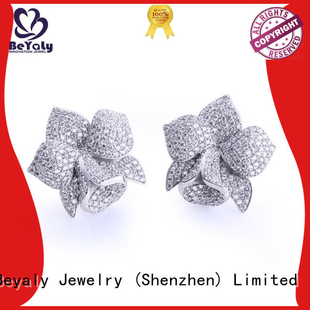 Wholesale small mini diamond hoop earrings BEYALY Brand