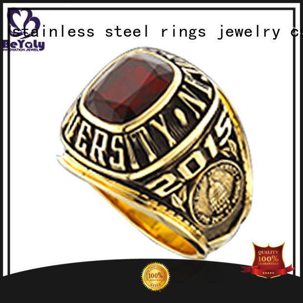 BEYALY long lasting graduation class rings company for university students