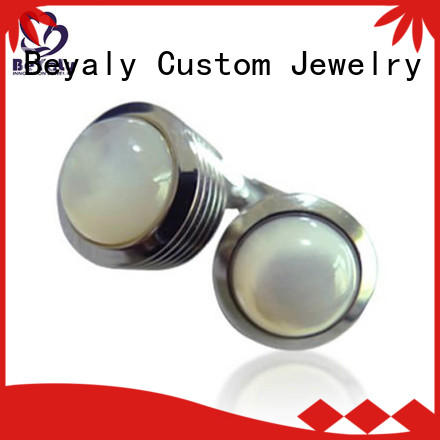BEYALY brass top 10 cufflinks for business for ceremony for advertising promotion