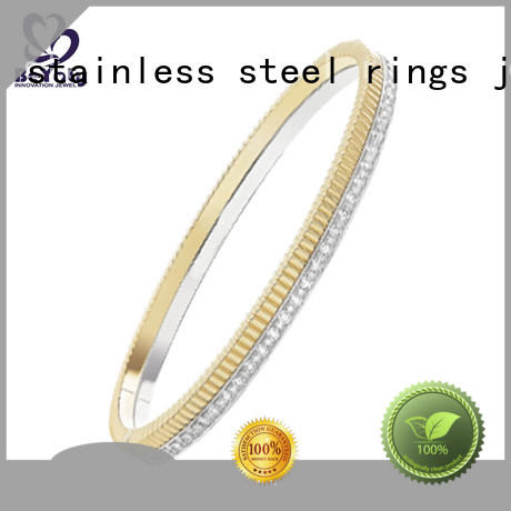 BEYALY zirconia silver bangle bracelets on sale for ceremony