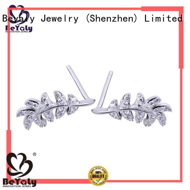 BEYALY stylish zircon earring design for exhibition