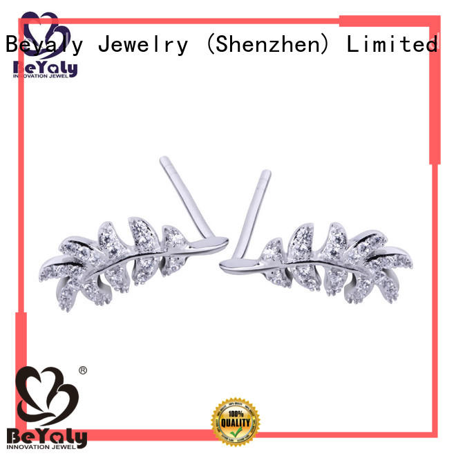 BEYALY stylish zircon earring design for exhibition