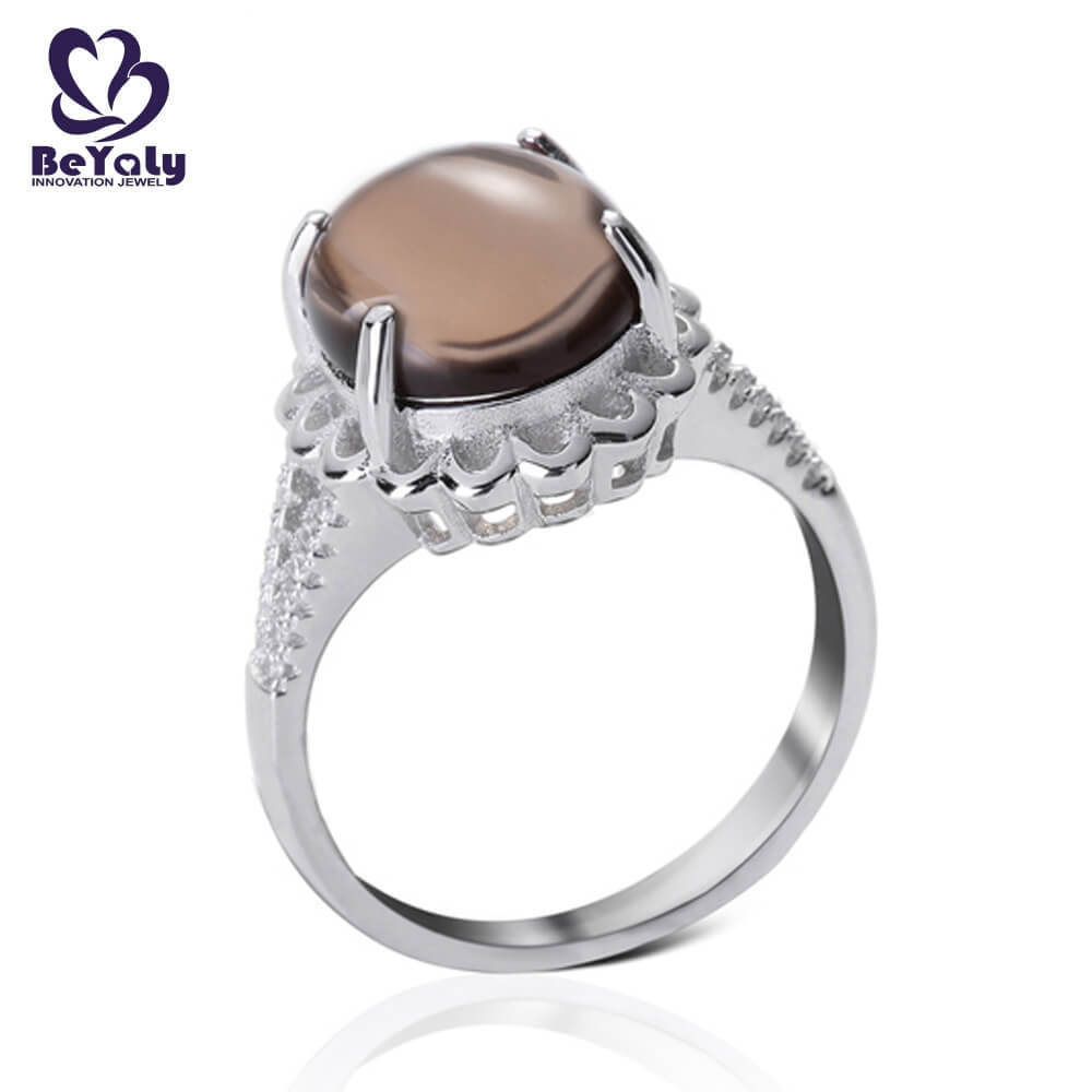 BEYALY steel sterling silver ring Supply for women-1