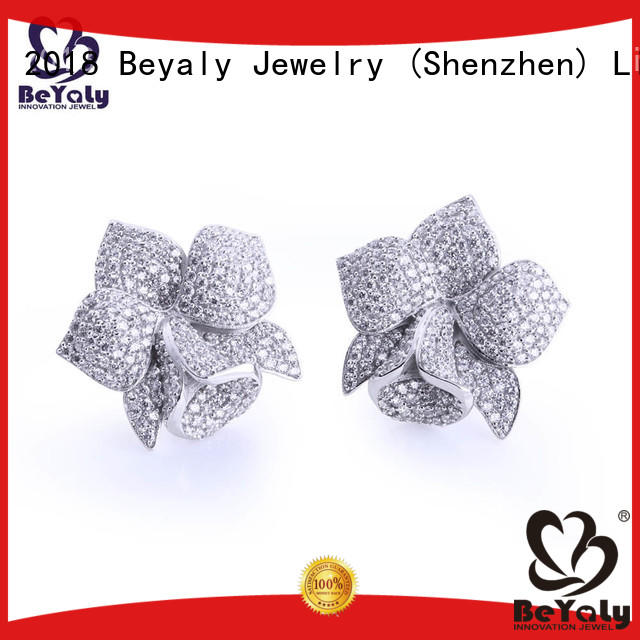 BEYALY unique circle stud earrings sets for advertising promotion