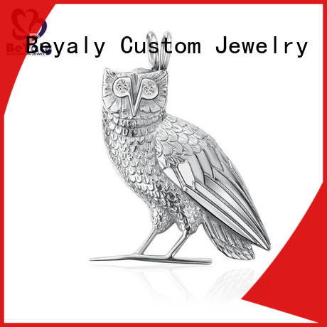 BEYALY disc sterling silver jewelry blanks manufacturer for women
