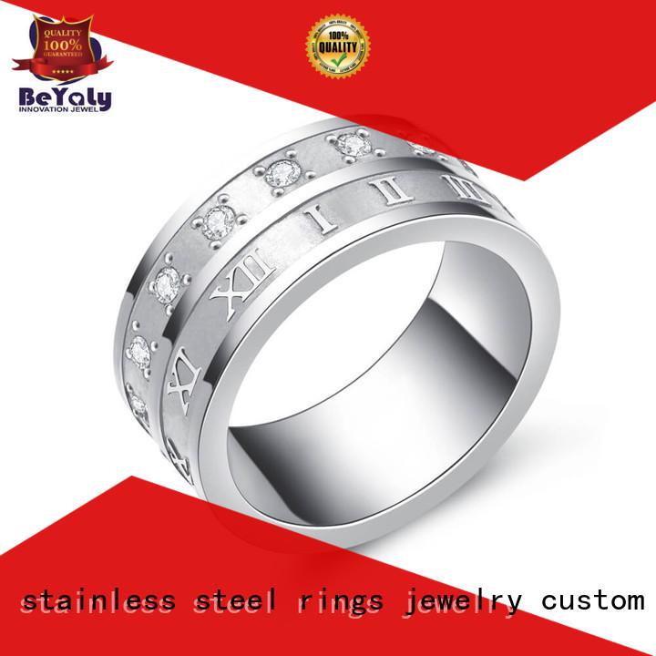 BEYALY diamond platinum diamond rings design for wedding