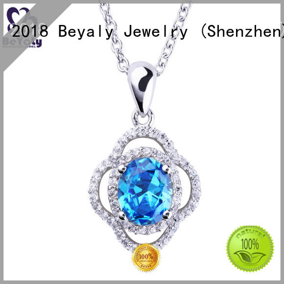 brilliant initial jewelry design for women BEYALY