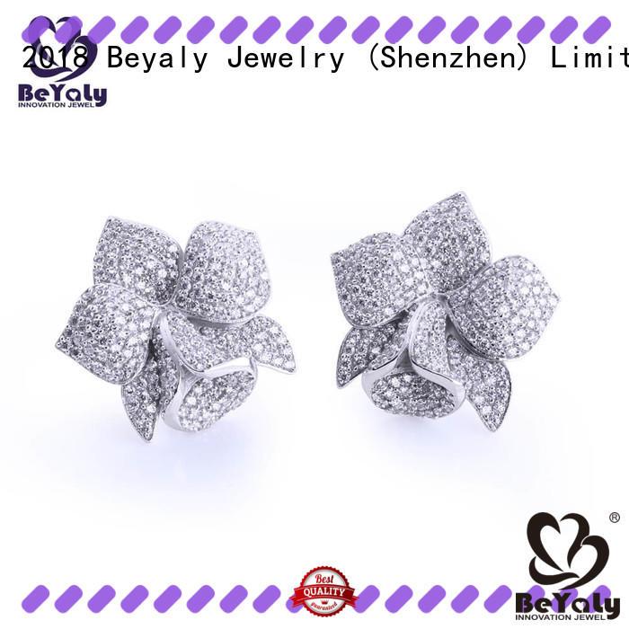 jewelry zircon earring supplier for women