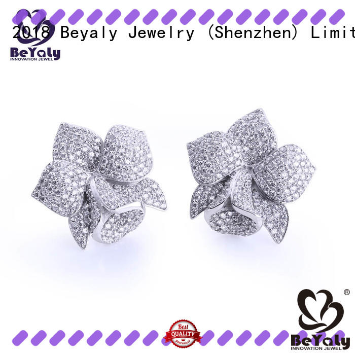 jewelry zircon earring supplier for women