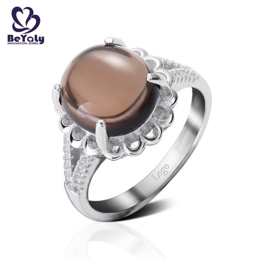 BEYALY steel sterling silver ring Supply for women-3