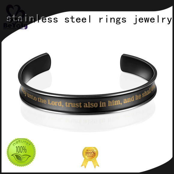party womens stainless initial bracelets BEYALY Brand company