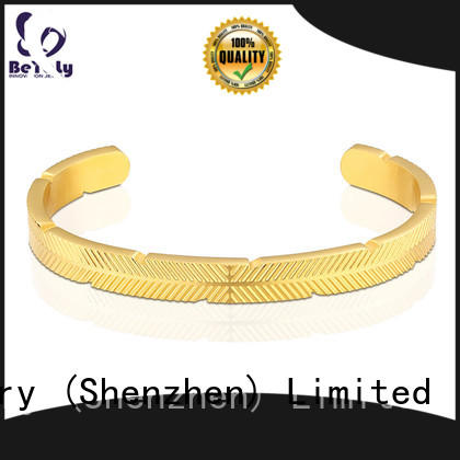 BEYALY thread silver cuff bracelet for ceremony