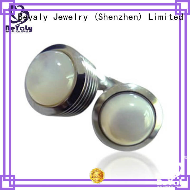 Wholesale tie cufflink set white factory for engagement