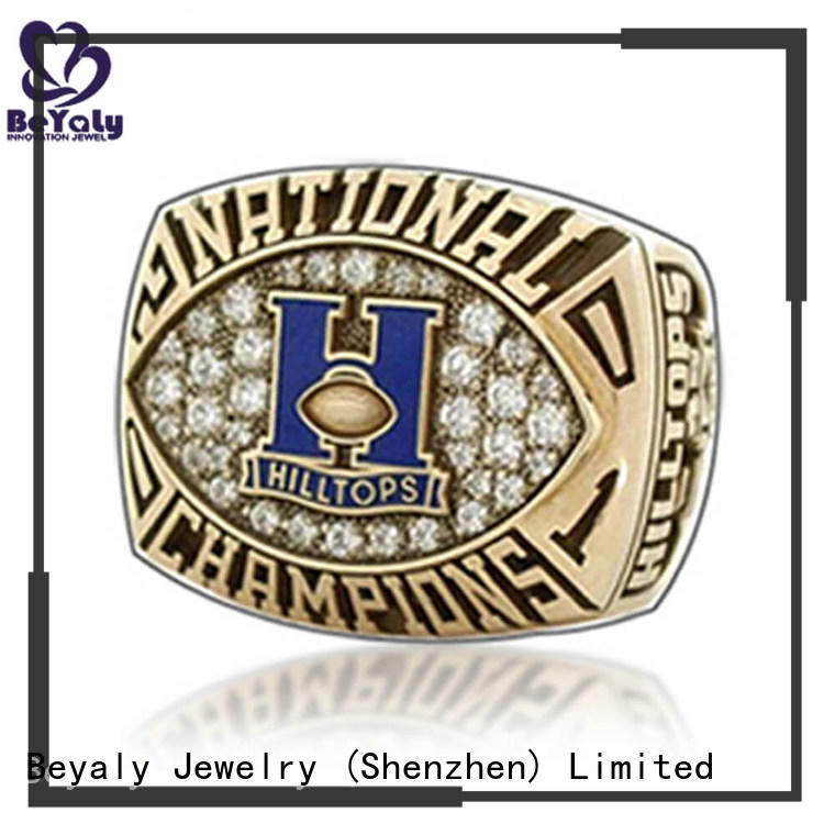 BEYALY hilltops youth sports rings factory for word champions
