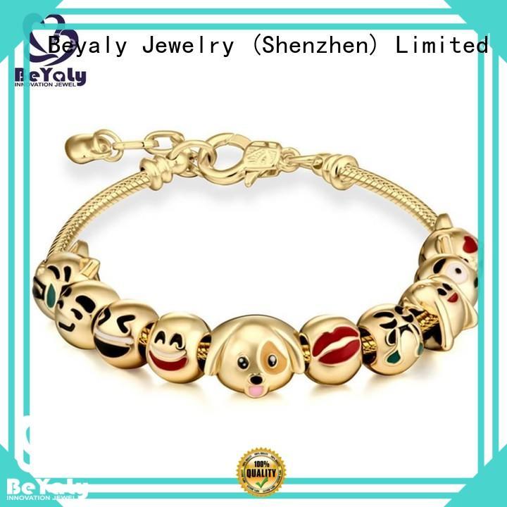 BEYALY black bangle bracelet for anniversary celebration