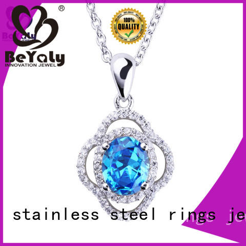 BEYALY unique dog tag necklace sets for ladies
