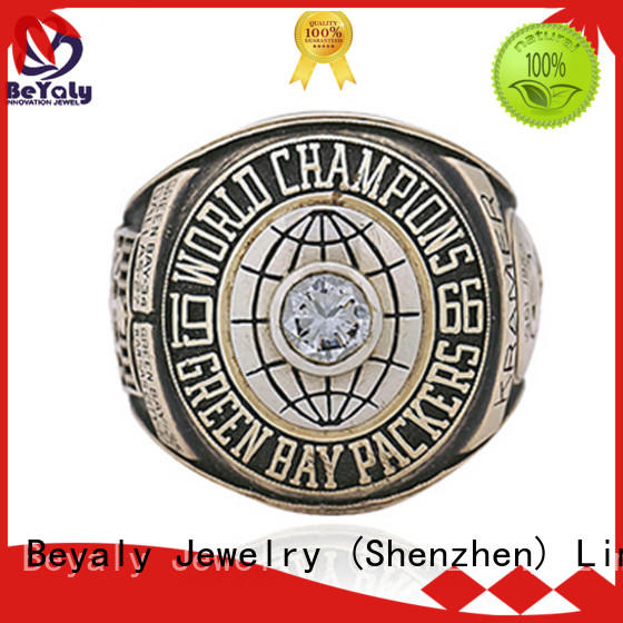 BEYALY Wholesale football championship rings manufacturers for player