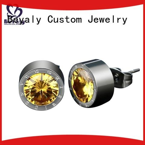 BEYALY shape gold hanging earrings with price Suppliers for business gift