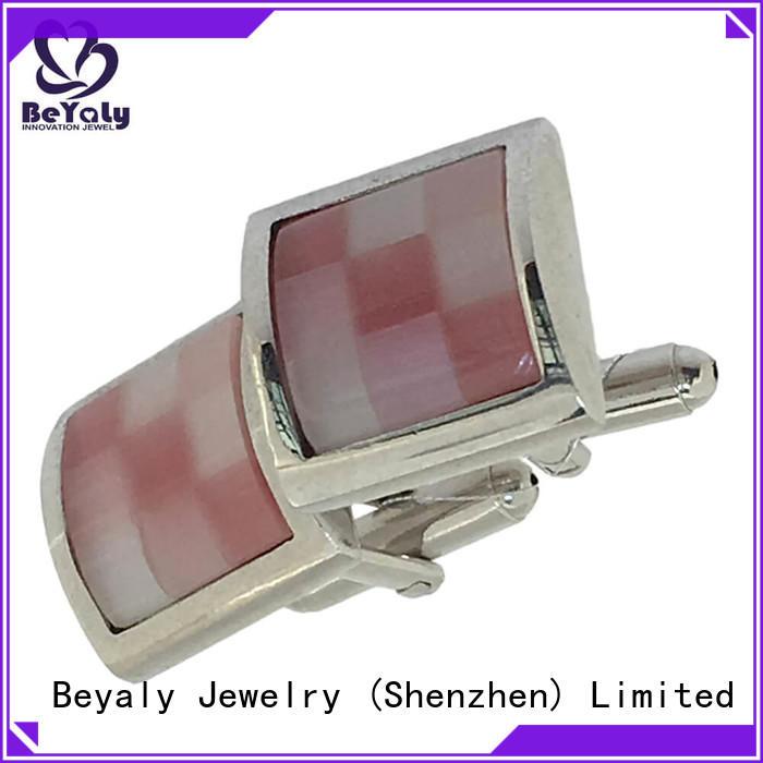 popular handmade silver cufflinks men Suppliers for engagement