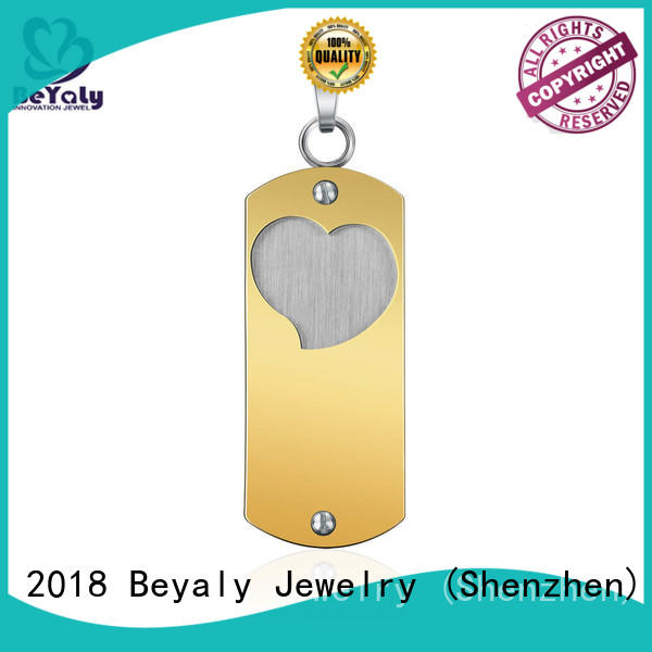 eagle clover star metal pendant blanks BEYALY manufacture