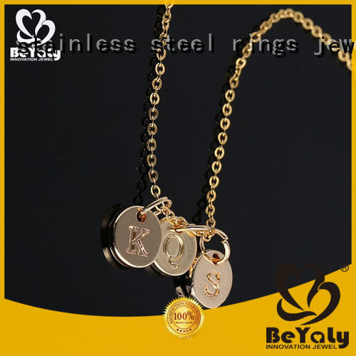 BEYALY carved necklaces for girls