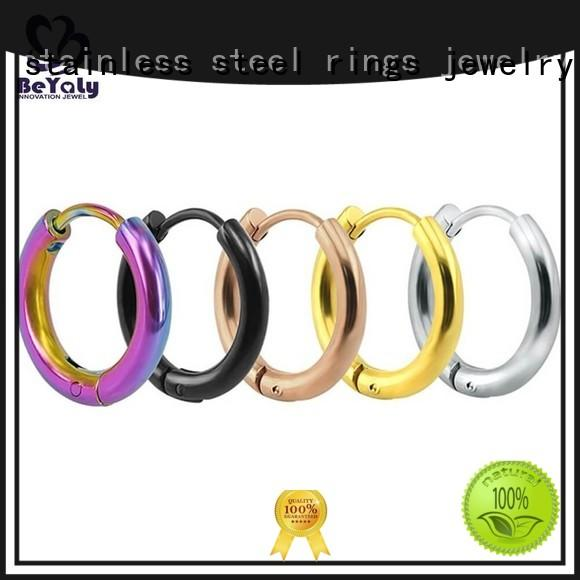 unique circle diamond earrings artificial company for women