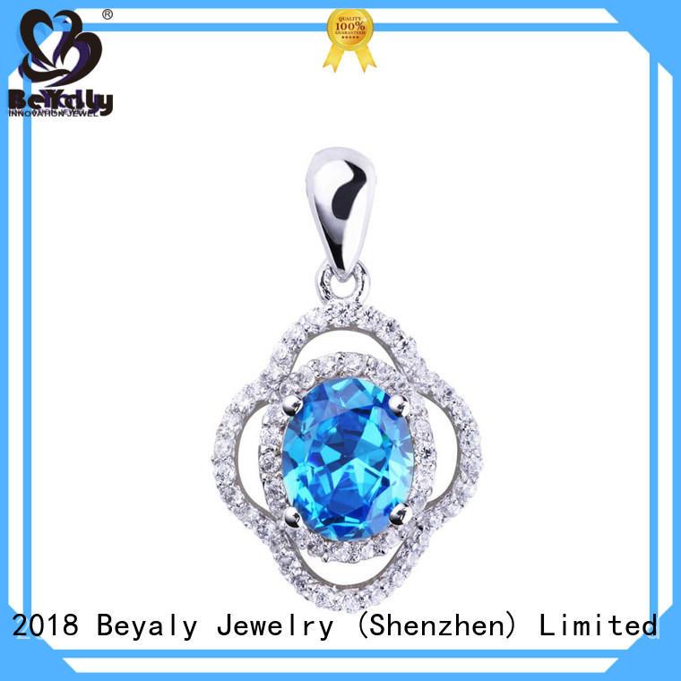 blank clavicle pendants sterling silver bezel pendant blanks jewelry BEYALY Brand