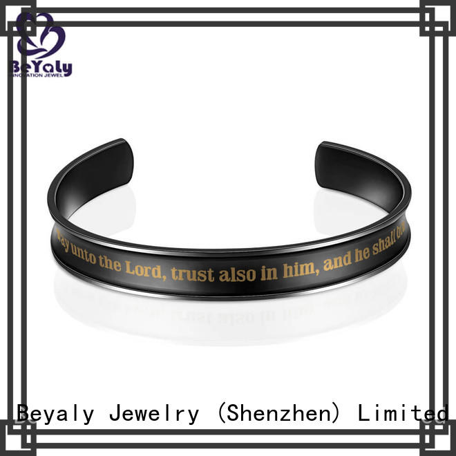 BEYALY Latest silver gold bracelets jewelry Supply for anniversary celebration