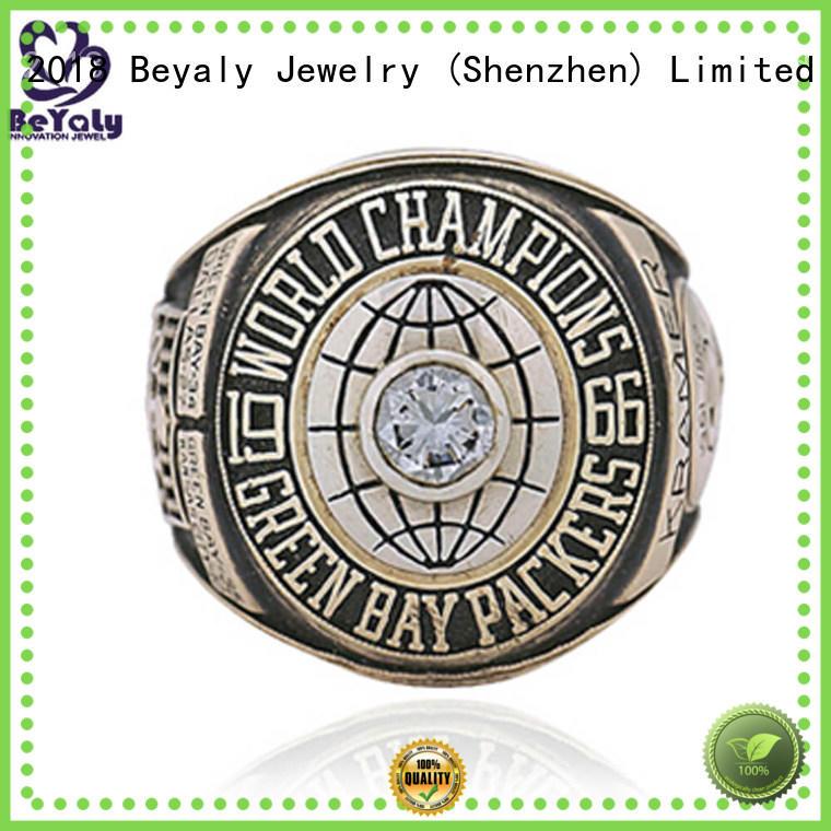 brass baseball championship rings replica BEYALY company