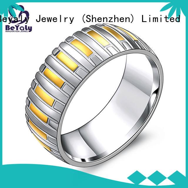 Top best looking diamond rings silver factory for women