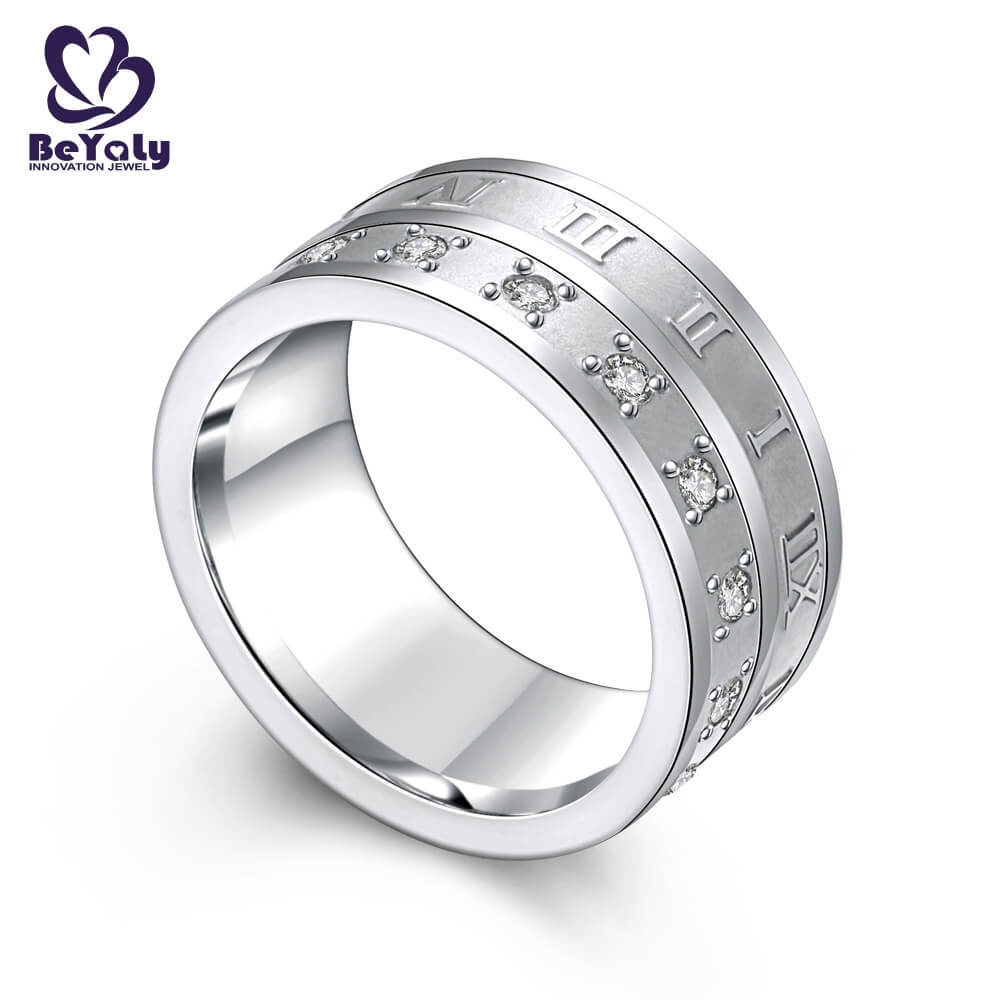 promise sterling silver ring jewelry design for daily life-2