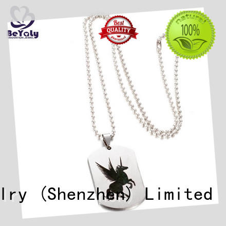 BEYALY beauty dog tag necklace manufacturers for women