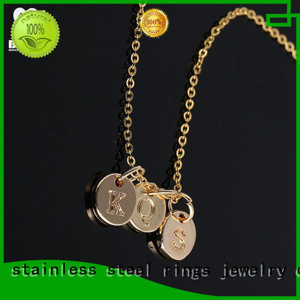 wolf silver pendant necklace sets for ladies BEYALY