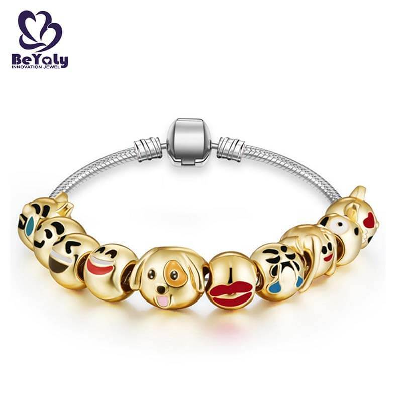 BEYALY leather silver bangle bracelets sets for advertising promotion-1
