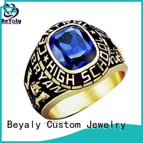 BEYALY Wholesale class ring pendant factory for students