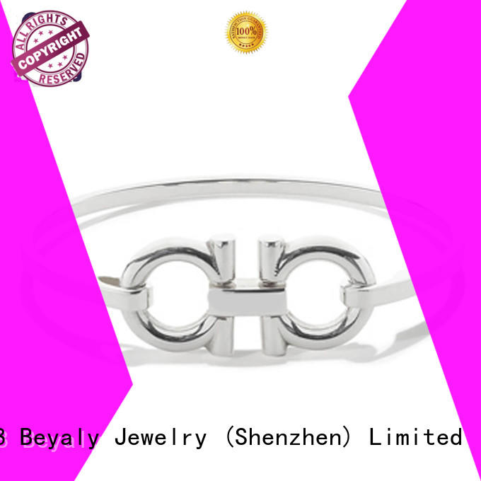 Custom simple womens initial bracelets BEYALY bracelet
