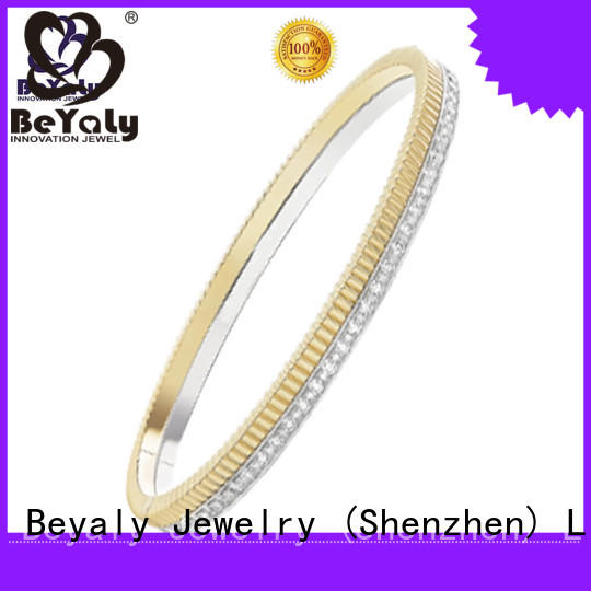 Latest silver bangles and bracelets bracelet for business gift