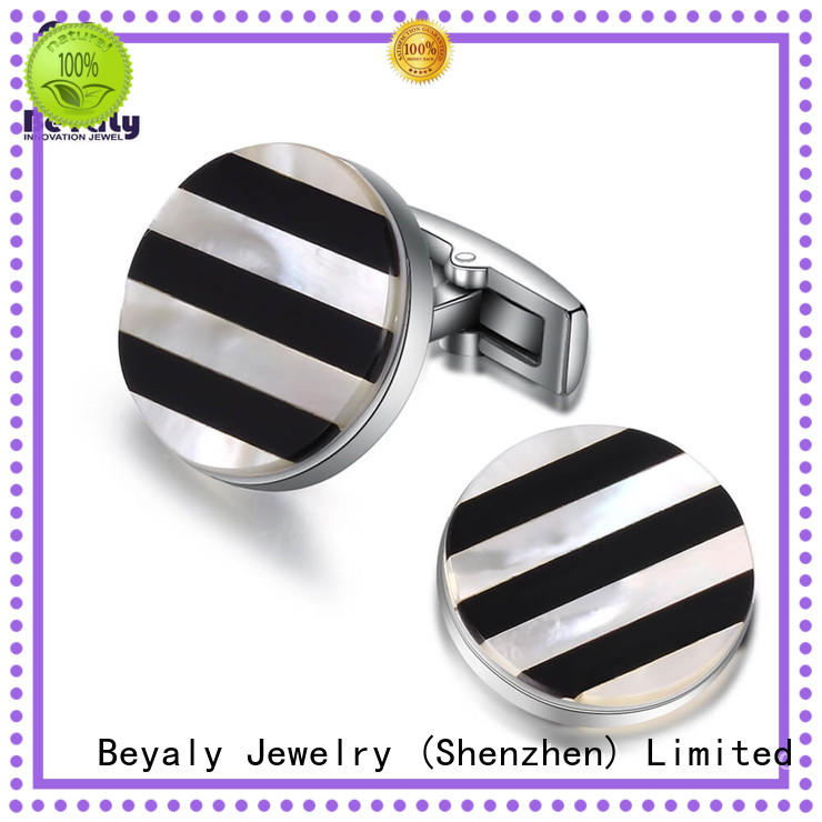 BEYALY special cool cufflinks for guys Suppliers for anniversary for celebration