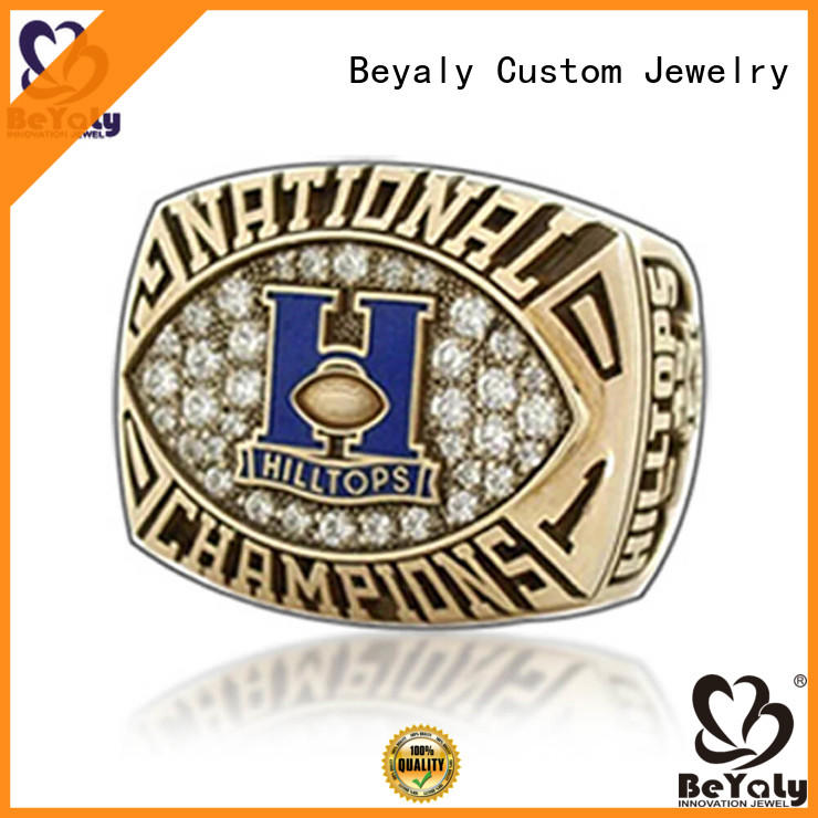 BEYALY customized big 12 championship ring for sale for national chamions