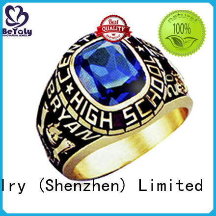 students university rings OEM mens class rings high school BEYALY