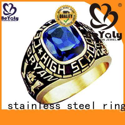 BEYALY special high school graduation rings black for students