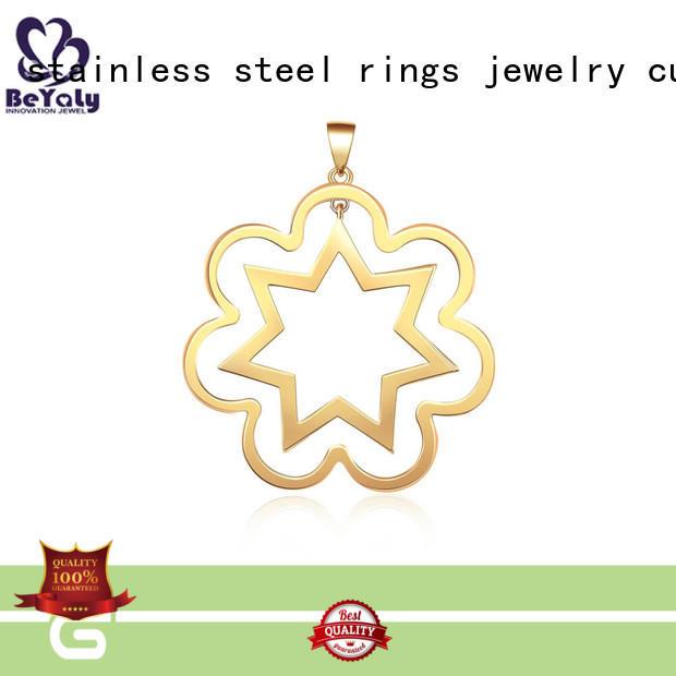 Hot sterling sterling silver bezel pendant blanks clavicle pendants BEYALY Brand